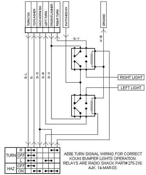 Dorikaze - Canada's Old School Toyota Enthusiasts! | Ae86 Brake Light Wiring Diagram |  | themercers.ca