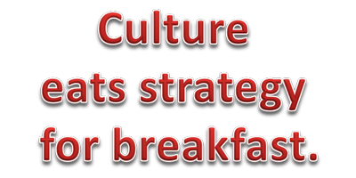 Culture east strategy for breakfast.
