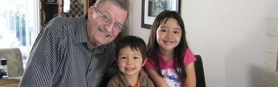 At Grandpa's, Victoria, B.C. (2012)
